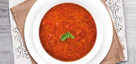 Marocká polévka s kysaným zelím