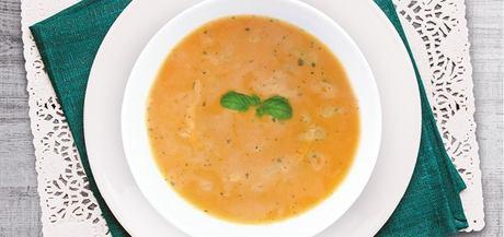 Marocká polévka s hlívou