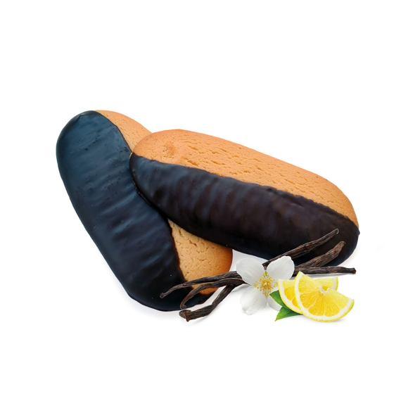 Polomáčené piškoty s vanilkovo citrónovou příchutí