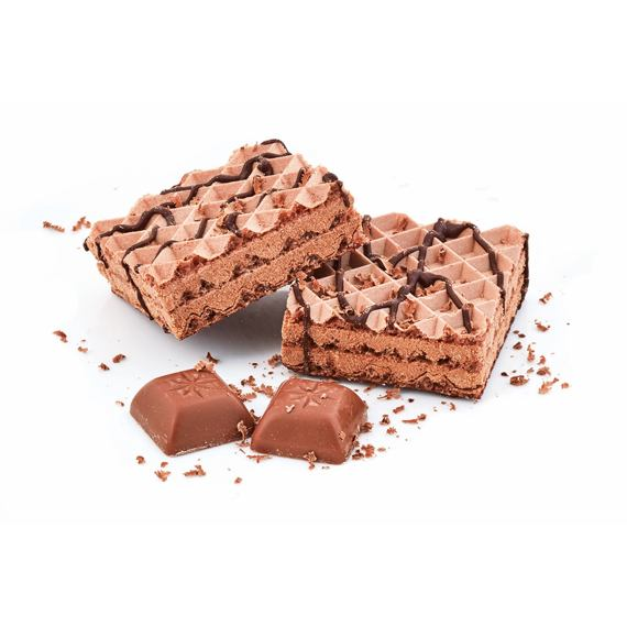 Vafle s čokoládovou příchutí