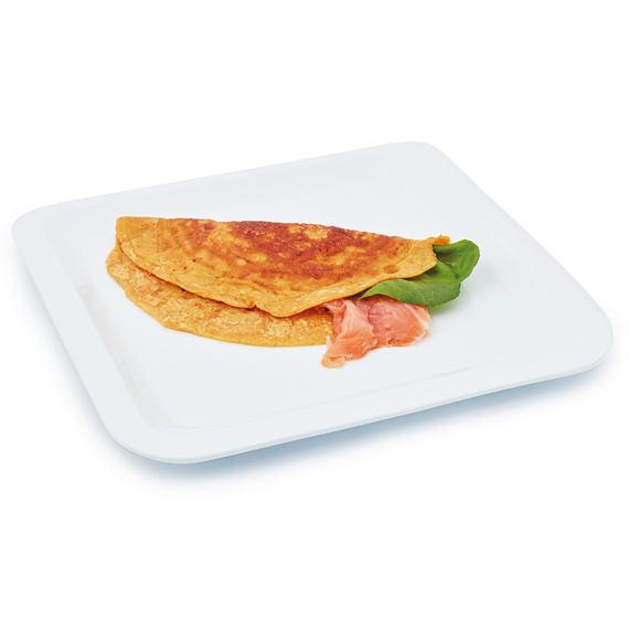Omeleta s příchutí lososa