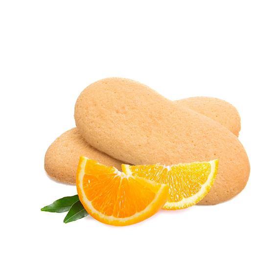 Proteinové piškoty s pomerančem